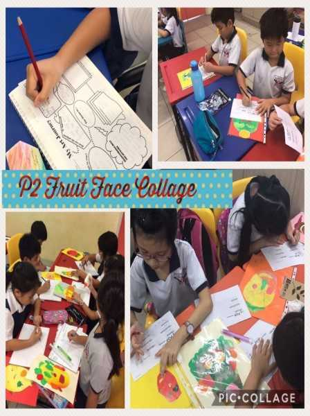 P2 Fruit Face Collage - Photos