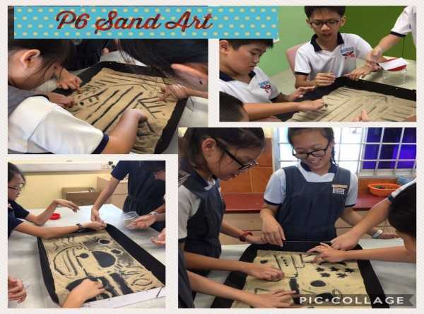 P6 Sand Art - Photos